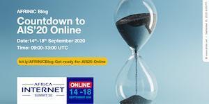 Compte à rebours pour AIS'20 Online: Vous attendez avec impatience AIS'20 Online comme nous?