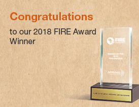 FIRE Awards Winner 2018 Announced