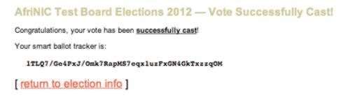 votação online 12