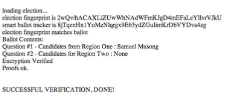 votação online 16