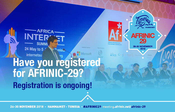 Registration for AFRINIC-29 is Still Open
