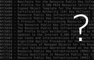 Quais RFCs relacionados a RPKI você deve ler?