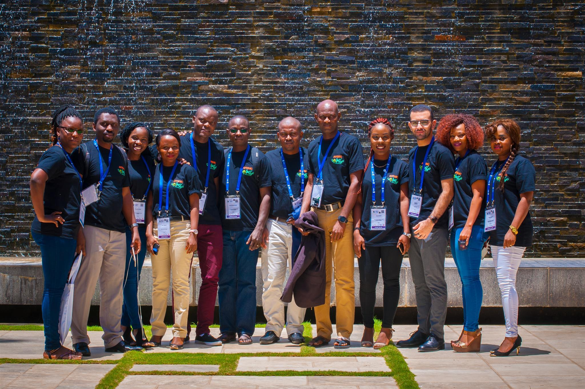 AFRINIC-28 Fellowship winners in Dakar Senegal