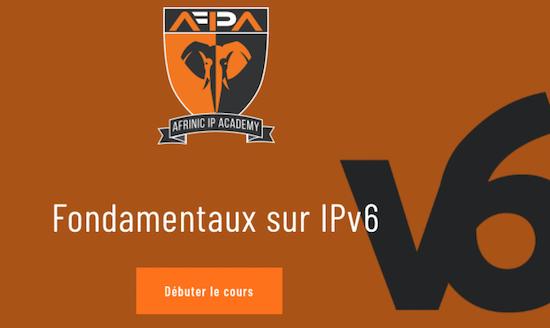 إطلاق IPv6 دورة التأسيس باللغة الفرنسية